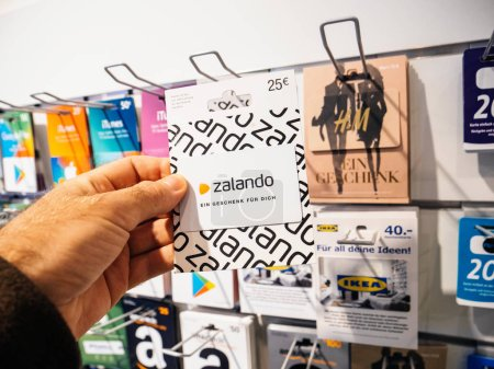 Buying Zalando gift card