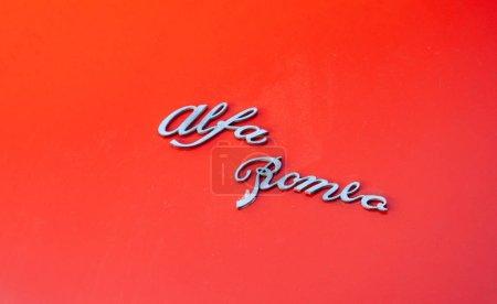 Старый винтажный Альфа Ромео Спайдер
