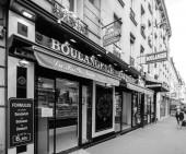 Bakery in Paris street view perspective