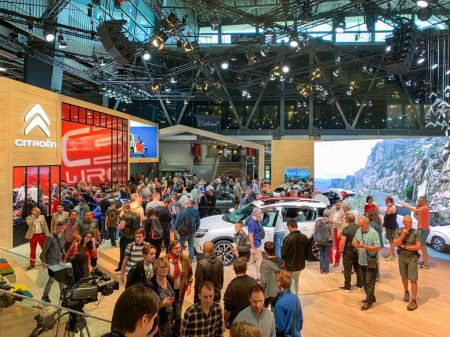Citroen French cars at Mondial
