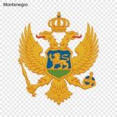 Symbol of Montenegro National emblem
