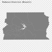 High Quality mapstate of Brazil