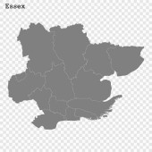 High Quality map is a county of England