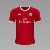Realistic soccer shirt 2020