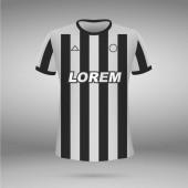 t-shirt soccer jersey Vector illustration