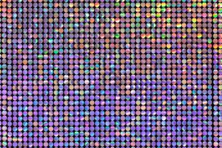 Foto de Fondo de círculos de color, textura púrpura brillante - Imagen libre de derechos