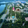 UST-KAMENOGORSK, KAZAKHSTAN - August 08: Beautiful...