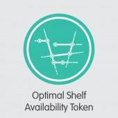 OSA - Optimal Shelf Availability Token - The Coin Icon
