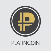 PLC - Platincoin The Icon of Coin or Market Emblem