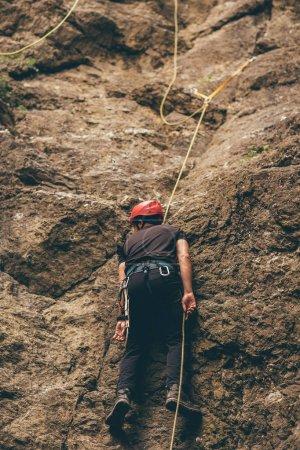 helping injured climber, emergency