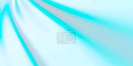 Foto de Fondo de luz de belleza de color pastel iridiscente, papel pintado simple, diseño de cubierta de fantasía, representación 3D, ilustración 3D, fondo de belleza creativa - Imagen libre de derechos