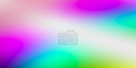 Photo pour Papier peint simple beauté colorée avec effet fluide, concept d'art moderne beauté, rendu 3D, illustration 3D - image libre de droit