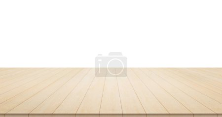 Photo for Empty wood table top for display or montage product - Royalty Free Image