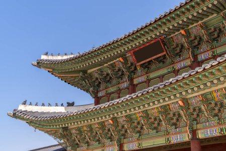 Photo pour Palais Gyeongbokgung à Séoul Corée du Sud - image libre de droit