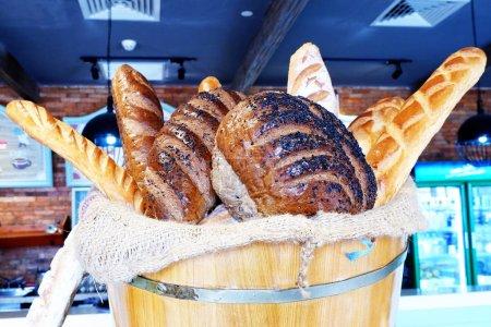 Verschiedenes Gebäck in Bäckerei