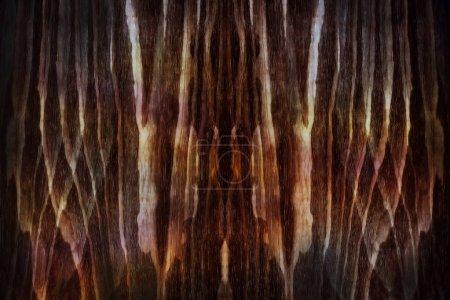 Photo pour Fond abstrait mystère. Ton de couleur brun foncé - image libre de droit