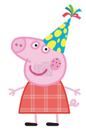 Peppa Pig kids cartoon character