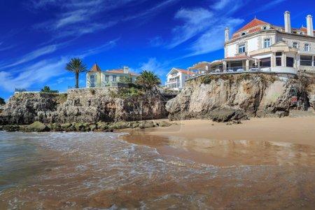 The Praia da Conceicao beach in Cascaias, Portugal