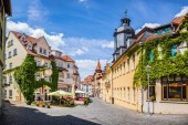 Townscape of Gotha in Thuringia