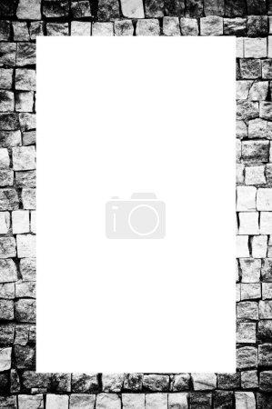 Photo pour Mosaïque colorée de différentes pierres - image libre de droit