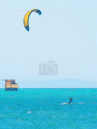 sport, activity, fun, colorful, graphic, summer - B242258348