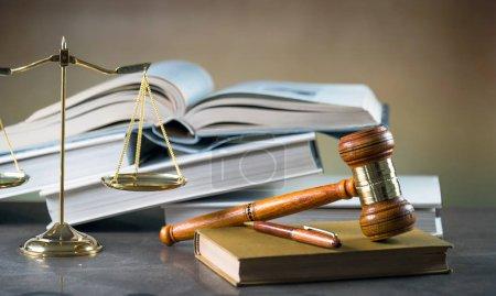 Photo pour Image de notion de droit et la Justice - image libre de droit