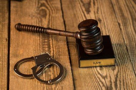 Photo pour Droit et justice, image conceptuelle. Thème droit - image libre de droit