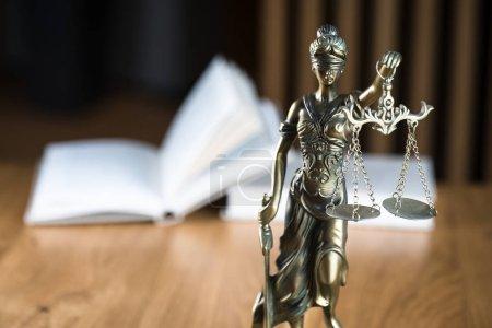 Photo pour Droit et justice, Statue de la déesse aveugle Thématiques . - image libre de droit