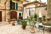 Stock picture of old Mallorca village Valdemossa