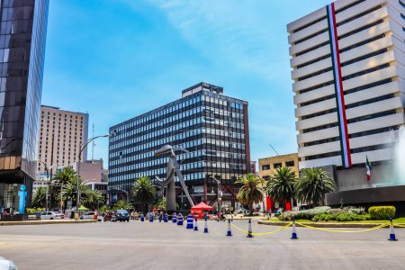 Photo for Mexico city at daytime, Mexico - Royalty Free Image