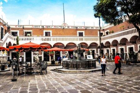 Photo pour Puebla ville au Mexique - image libre de droit