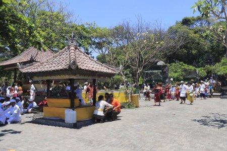 Photo pour Temple Lempuyang à Ubud, Indonésie - image libre de droit