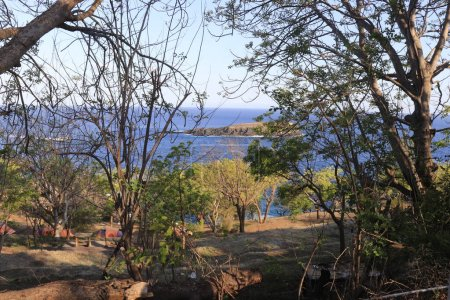Photo for Ocean view from Lempuyang temple in Indonesia - Royalty Free Image