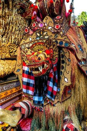 Photo pour Décorations et architecture du temple Tirta Empul à Ubud, Indonésie - image libre de droit