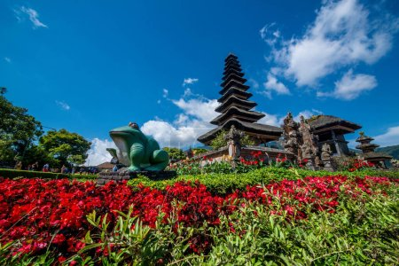 Photo for Architecture of Ulun Danu Beratan, Indonesia - Royalty Free Image