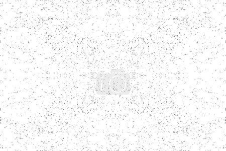 Dust Grunge Textur. Schmutzige Not-Lärm-Wirkung. Einfach zu bedienendes Overlay. Isolierte Vektortextur.