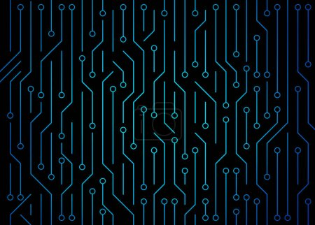 Photo for Circuit board. High-tech technology background texture. Pattern abstract illustration. - Royalty Free Image