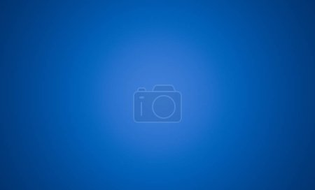 Photo for Abstract blue background with vignette for technology concept ,3d illustration. Empty space - Royalty Free Image