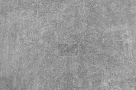 Photo for Rough grey concrete cement wall or flooring pattern surface texture. Close-up of exterior material for design decoration background - Royalty Free Image