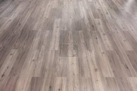 Photo pour Mur en bois naturel ou texture de surface de motif de plancher. Gros plan sur le matériau intérieur pour le fond de décoration design - image libre de droit