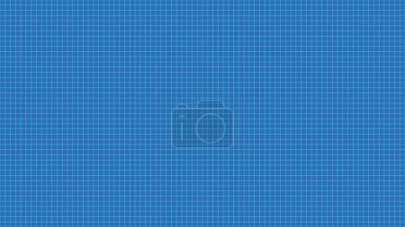 Photo for Blue rectangular tiles wall pattern surface seamless texture. Close-up of interior design decoration background. 3d abstract illustration - Royalty Free Image