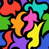 Vector illustrationSeamless abstract pattern backgroundEPS 8