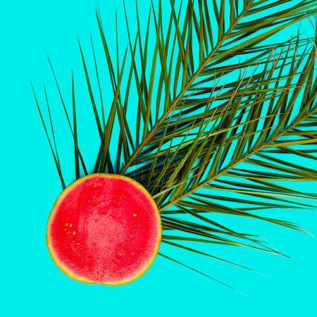 Watermelon Flat lay minimal art