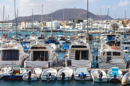 Sailboats and yachts in harbor, Gran Canaria, Spain