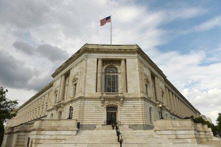 Photo pour Immeuble de bureaux de Sénat de Russell à Washington Dc - image libre de droit