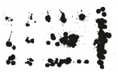 Paint Splatter Dots Splashes & Backgrounds Set 02