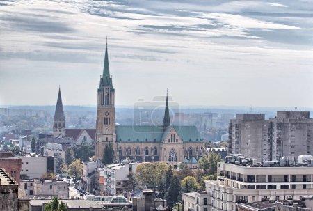 Cathedral Basilica of Saint. Stanislaus Kostka in Lodz Poland