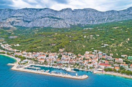 Tucepi Aerial view of town of Tucepi on Makarska r...