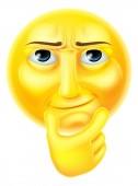Thinking Emoji Emoticon