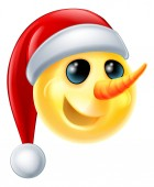 Snowman Emoji Icon